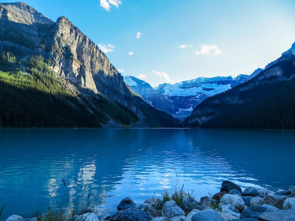 lake louise is a must see in banff