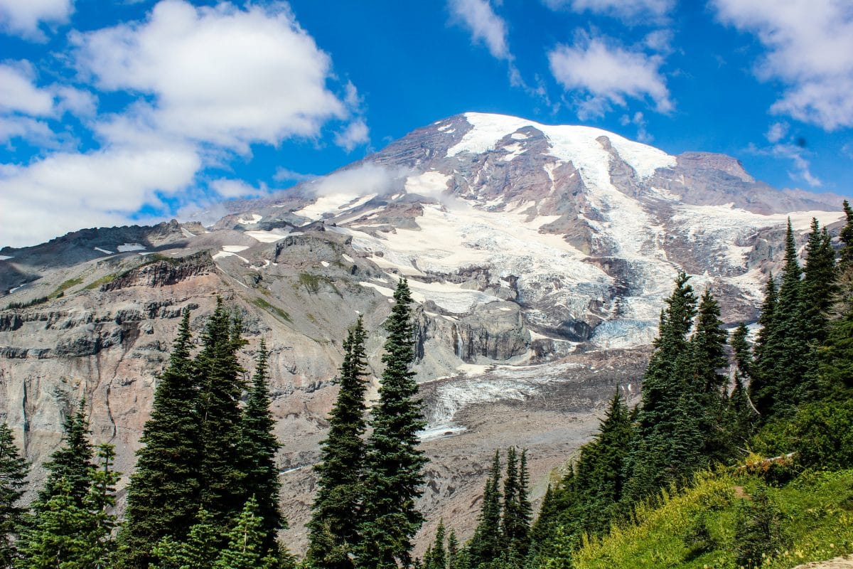 first time visiting seattle? go to mount rainier