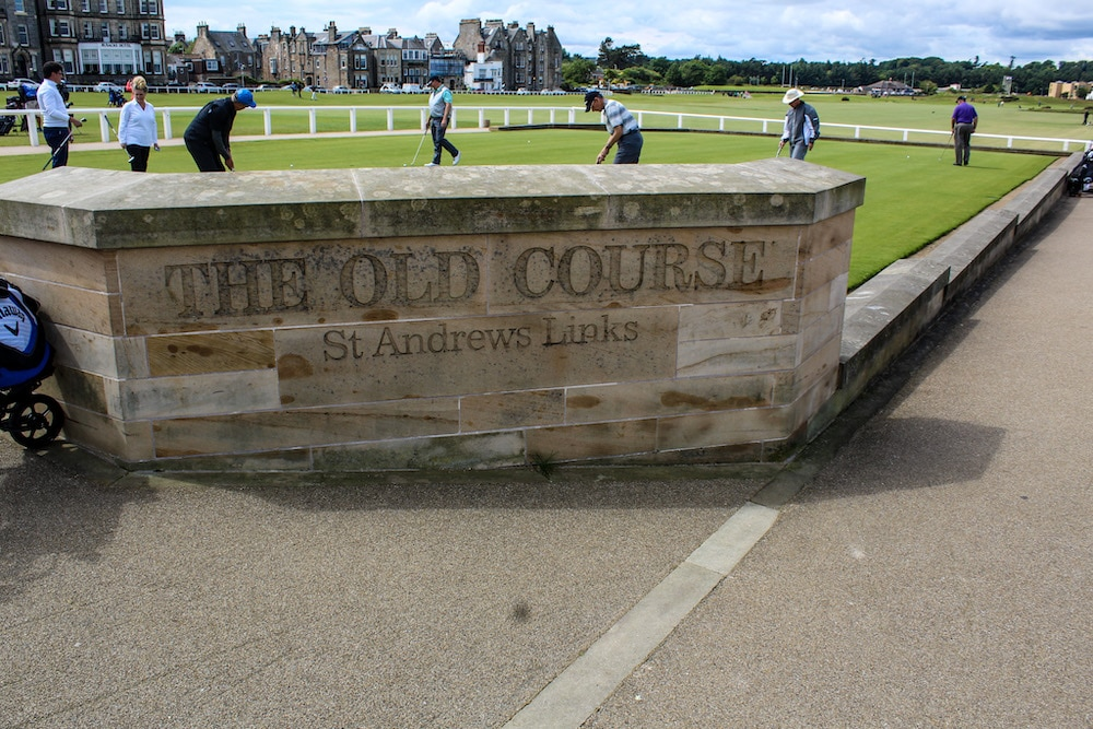 st andrews golf course is a fun additional for 10 days in scotland