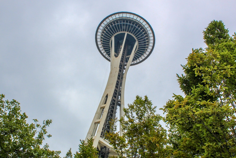 first time visiting seattle and see the space needle