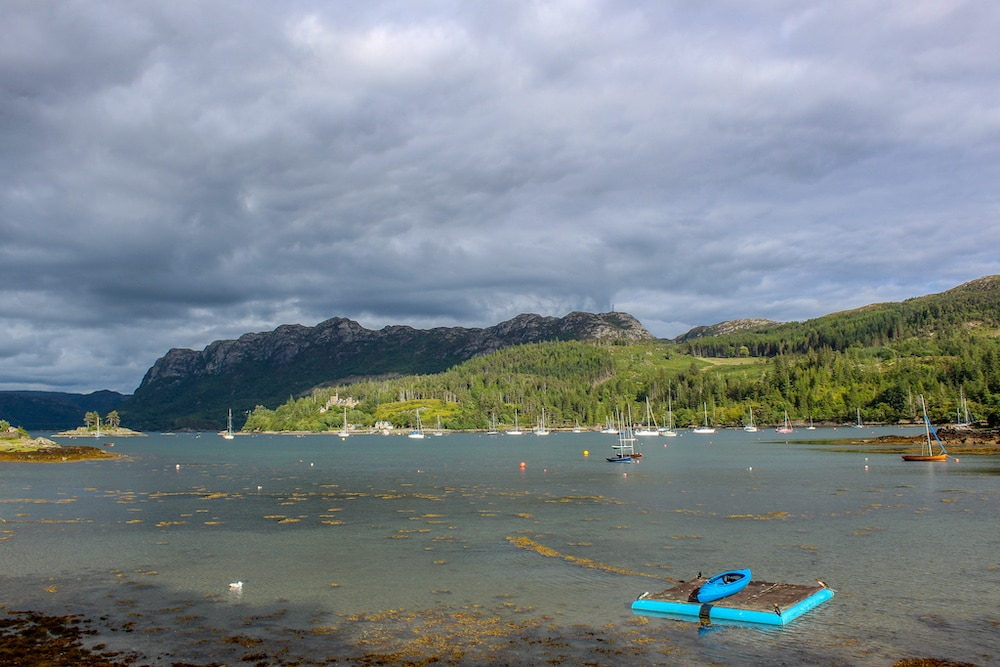 10 days in scotland means stopping in plockton