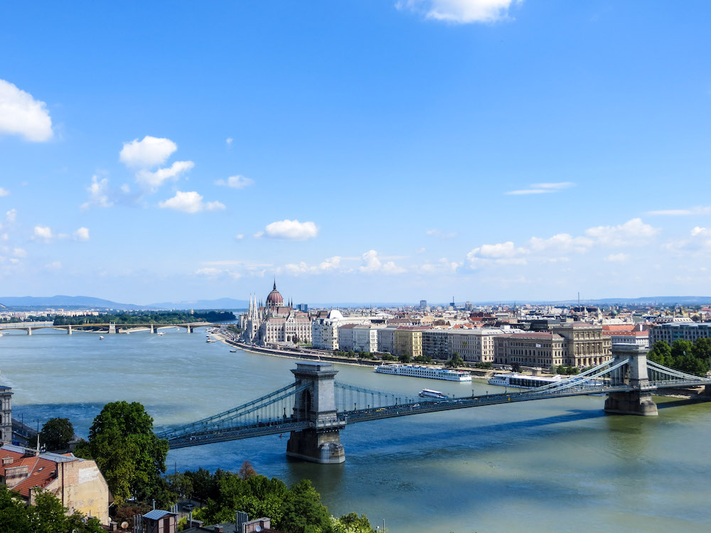 4 days in budapest gives you time to wander along the river