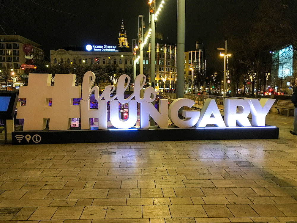 4 days in budapest welcome