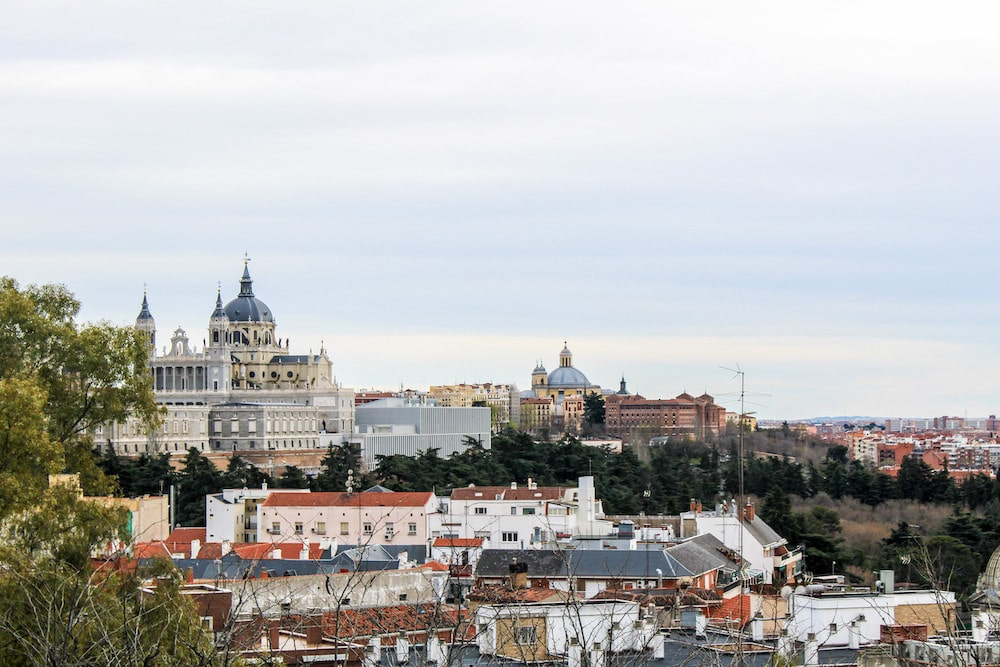 5 days in madrid means seeing lots of great views