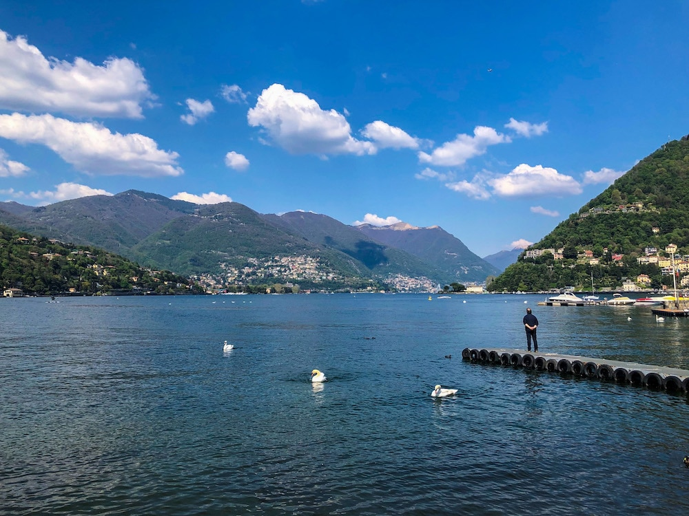 2 days in lake como is plenty of time to look at the water