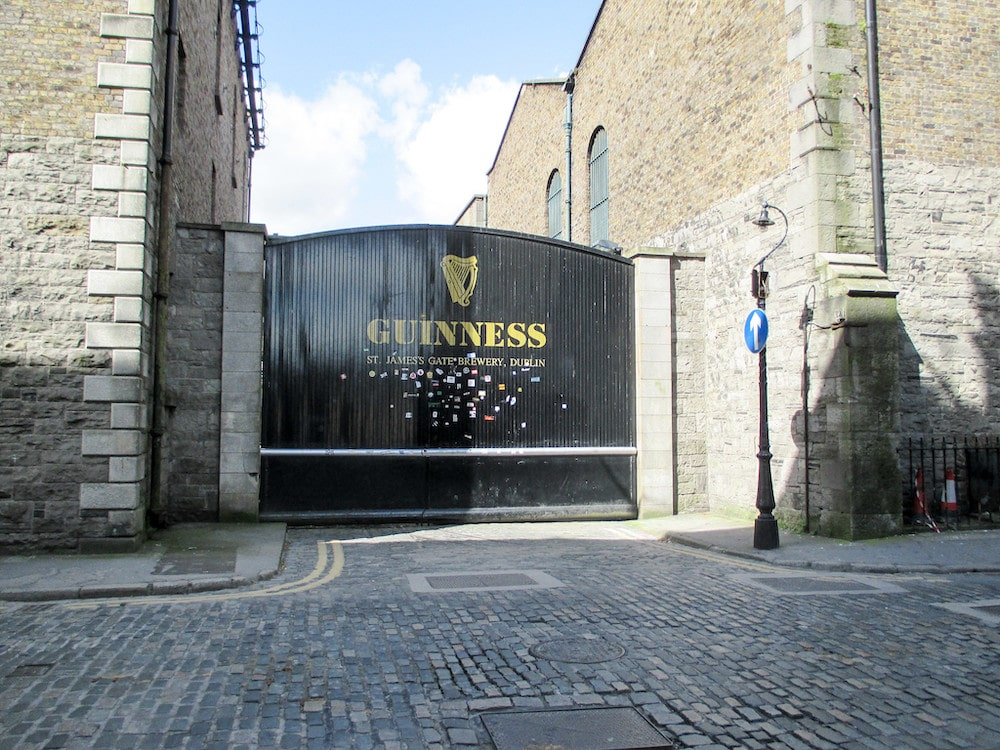 visiting the guiness factory is fun to do in dublin