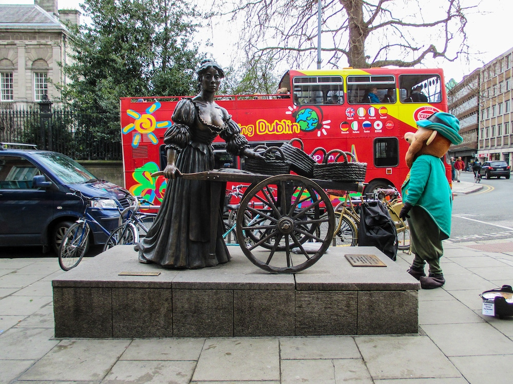 seeing molly malone as a tourist with 4 days in dublin