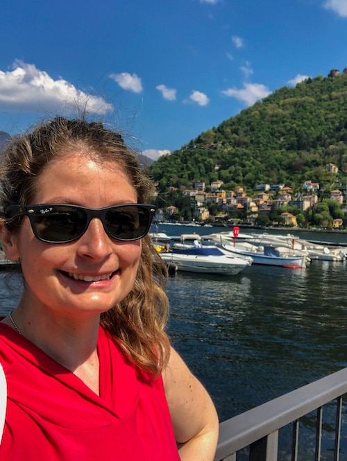 2 days in lake como leaves lots of time for selfies