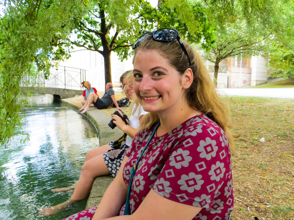 enjoying the summer in munich