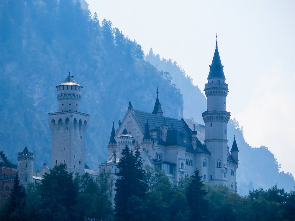 neuschwanstein is one of the most sites in all of germany