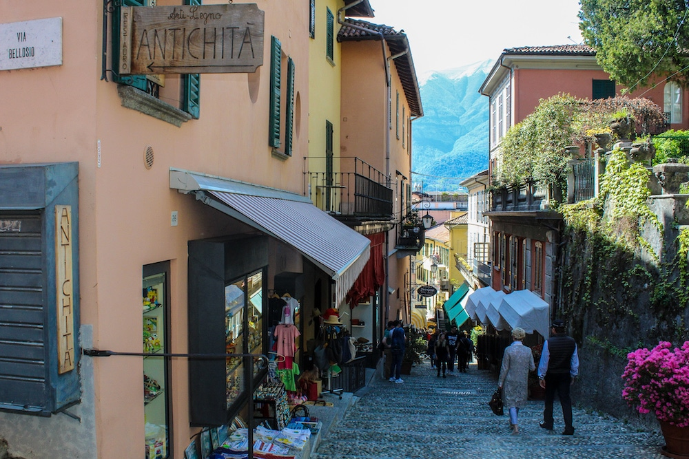 ready to shop with two days in lake como