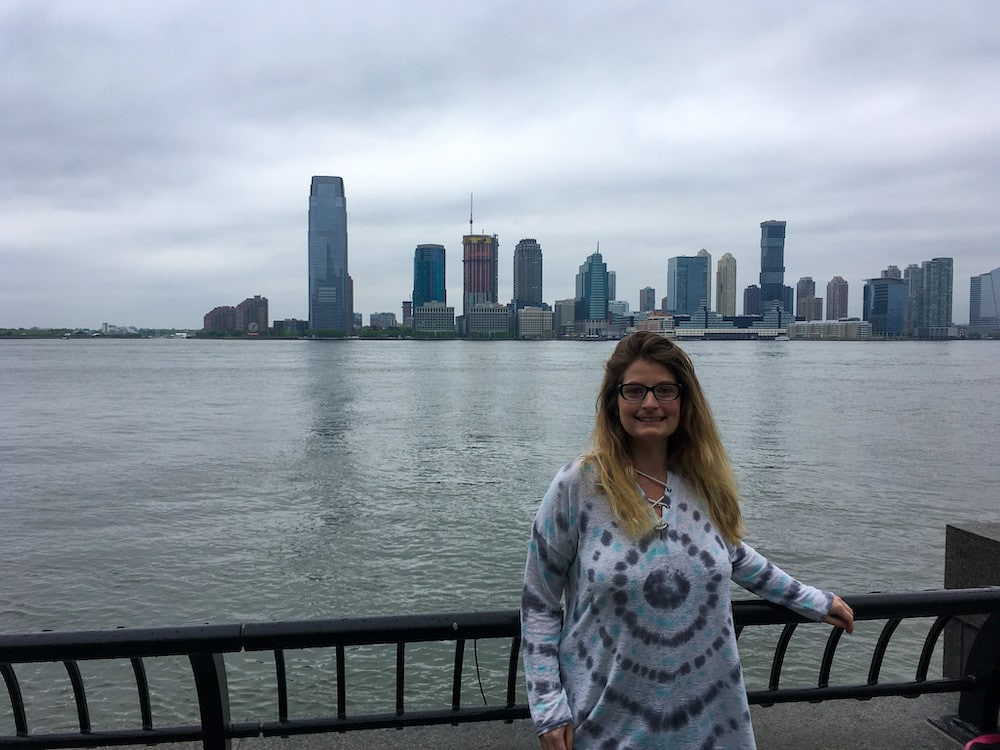 walking along the water is one of the free things to do in the financial district