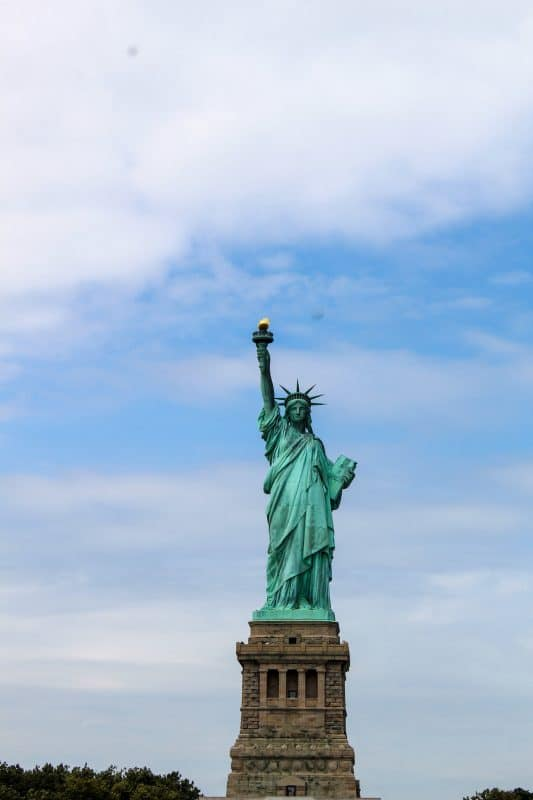 riding the staten island ferry is a great way to see lady liberty
