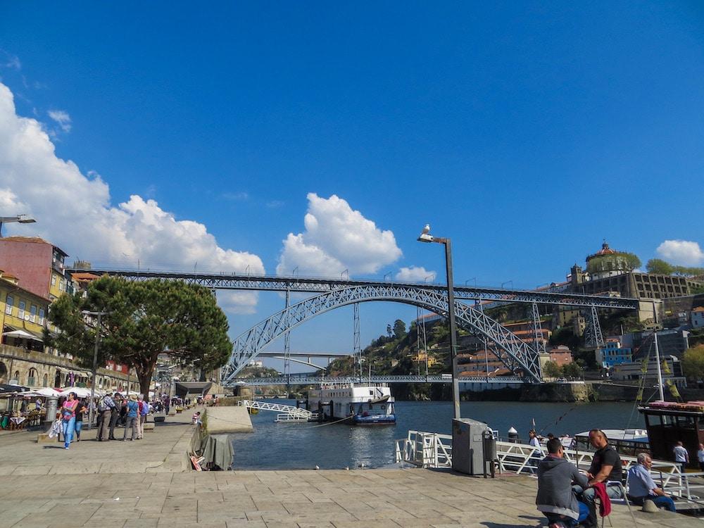 luis i bridge is an iconic site in porto