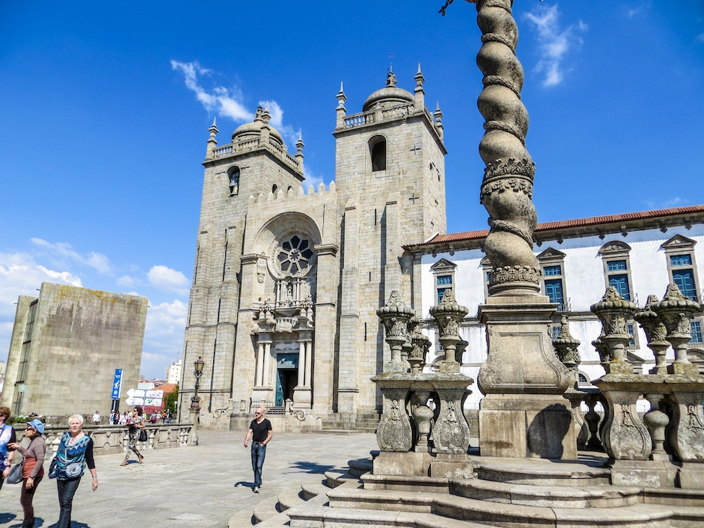 solo travel porto tip: don't skip the cathedral!