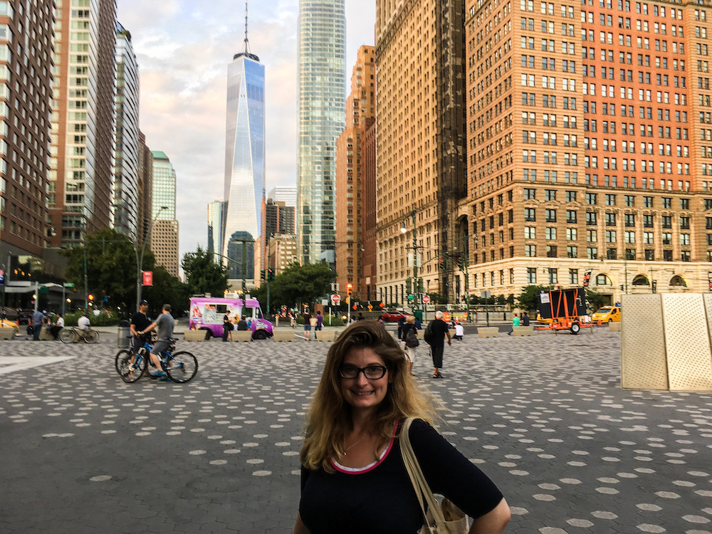 the financial district is fabulous to see in the evening hours
