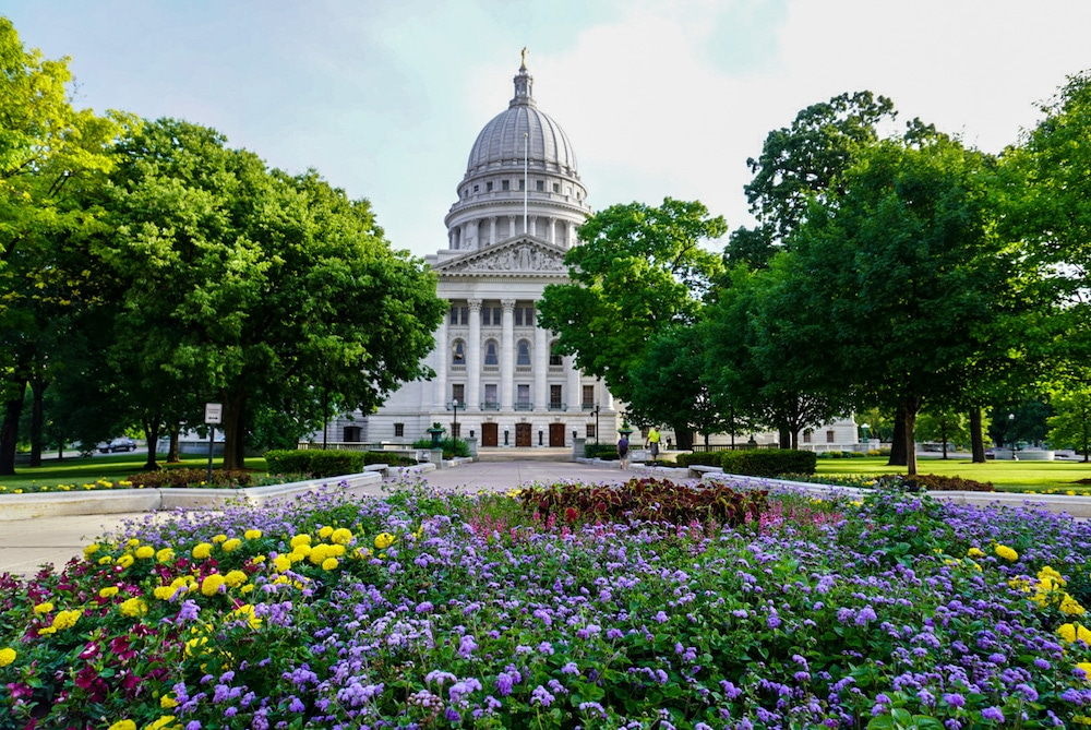 madison's capitol is absolutely gorgeous