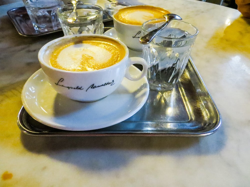 with 4 days in vienna, you will drink plenty of coffee