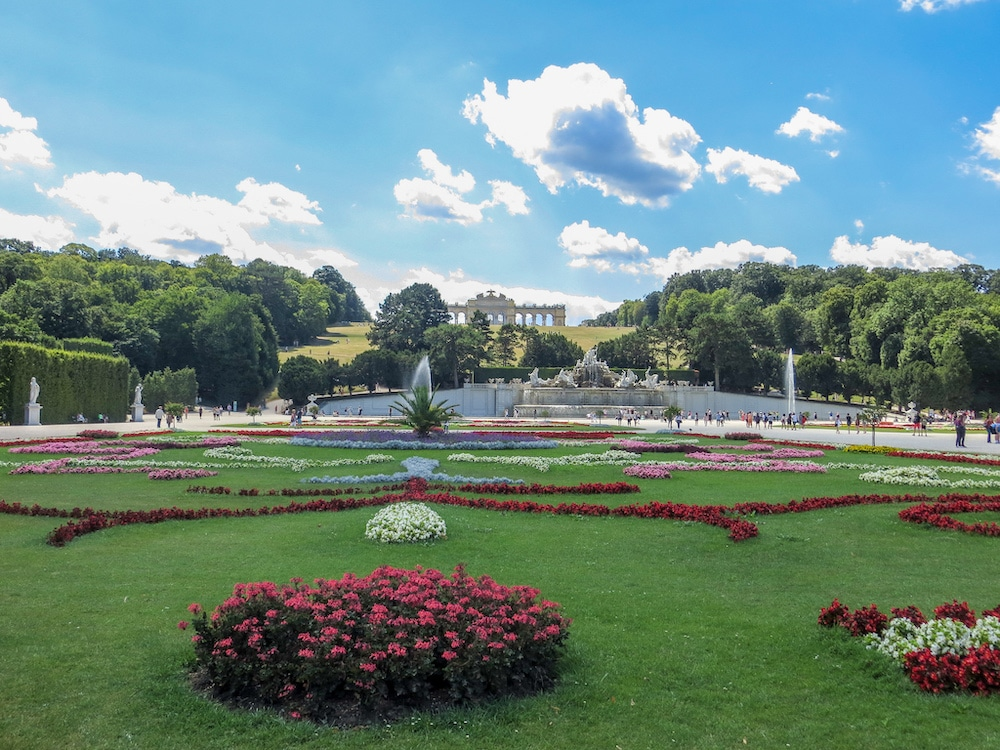you need to see schonbrunn gardens with 4 days in vienna