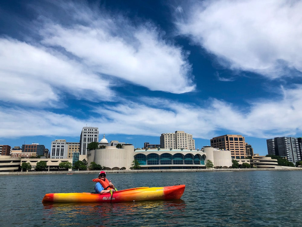 solo travel madison wi includes kayaking