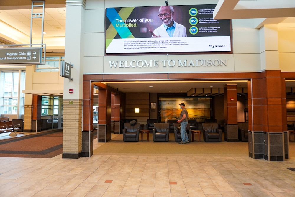 madison's lovely airport