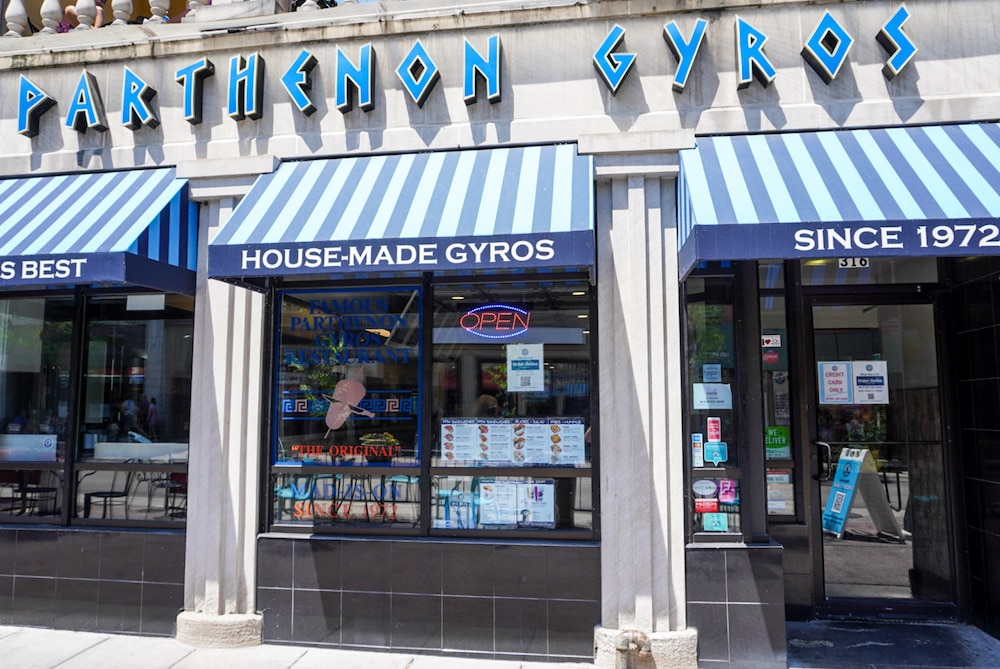 one of the best things to do alone in madison wi is eat gyros