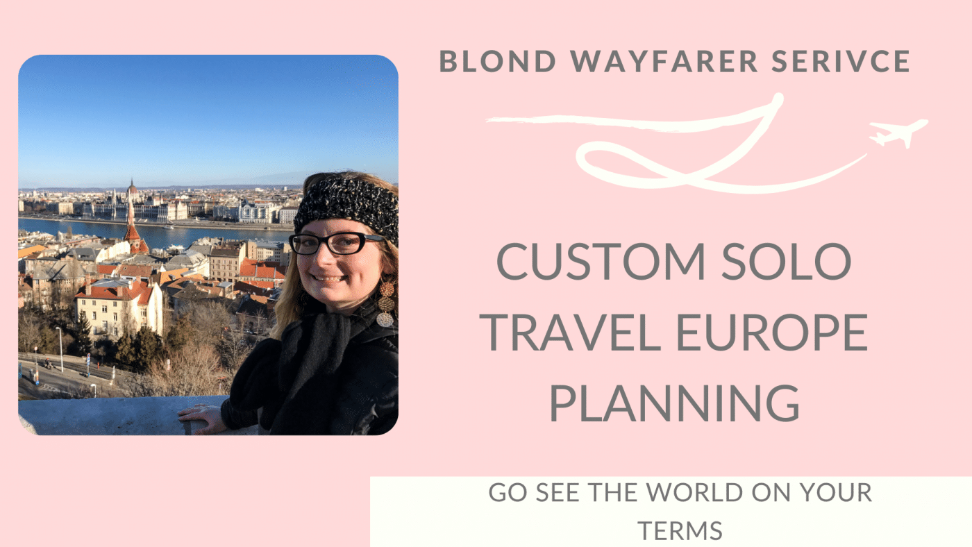 solo travel europe planning