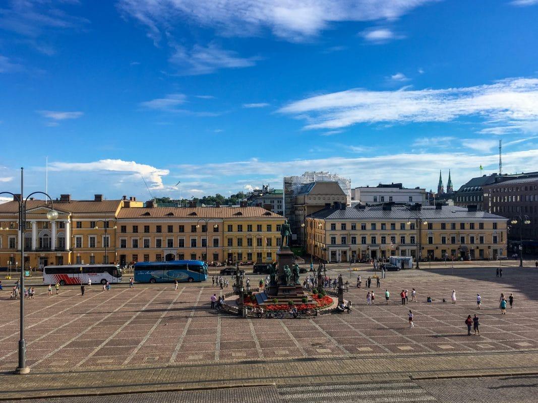 take a solo trip to helsinki to enjoy the public squares