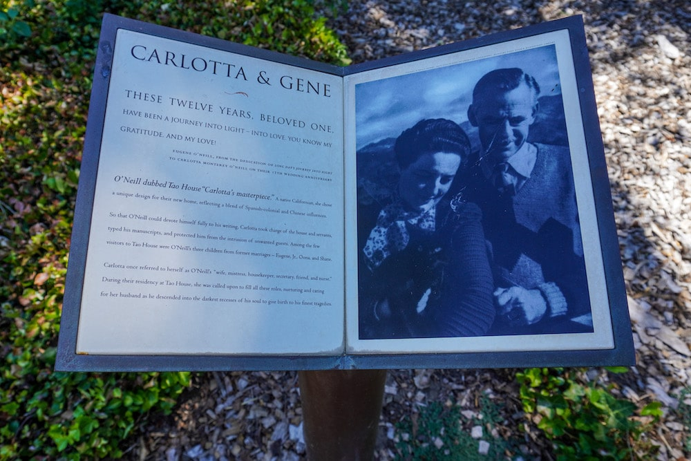 learning about eugene o'neill in the park in danville