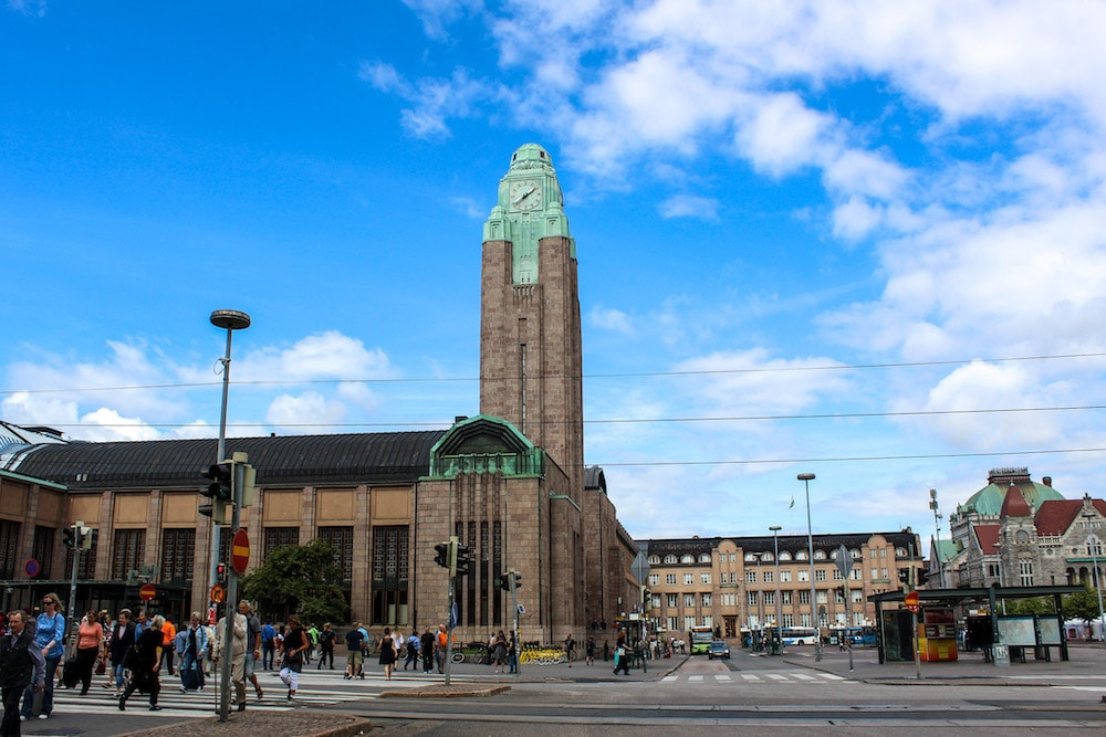 solo travel helsinki tip: it may be a busy city but it is also compact and easy to walk