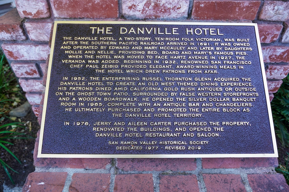 danville hotel is on the self-guided history tour