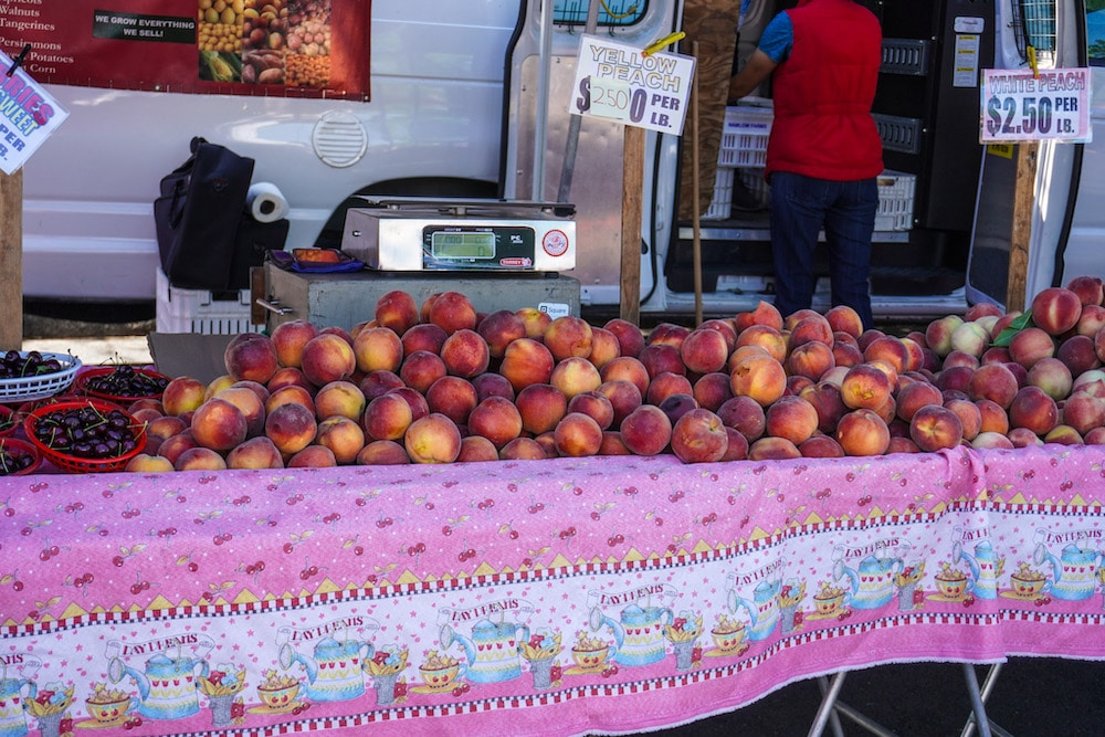 eat fresh produce at the markets in tri-valley