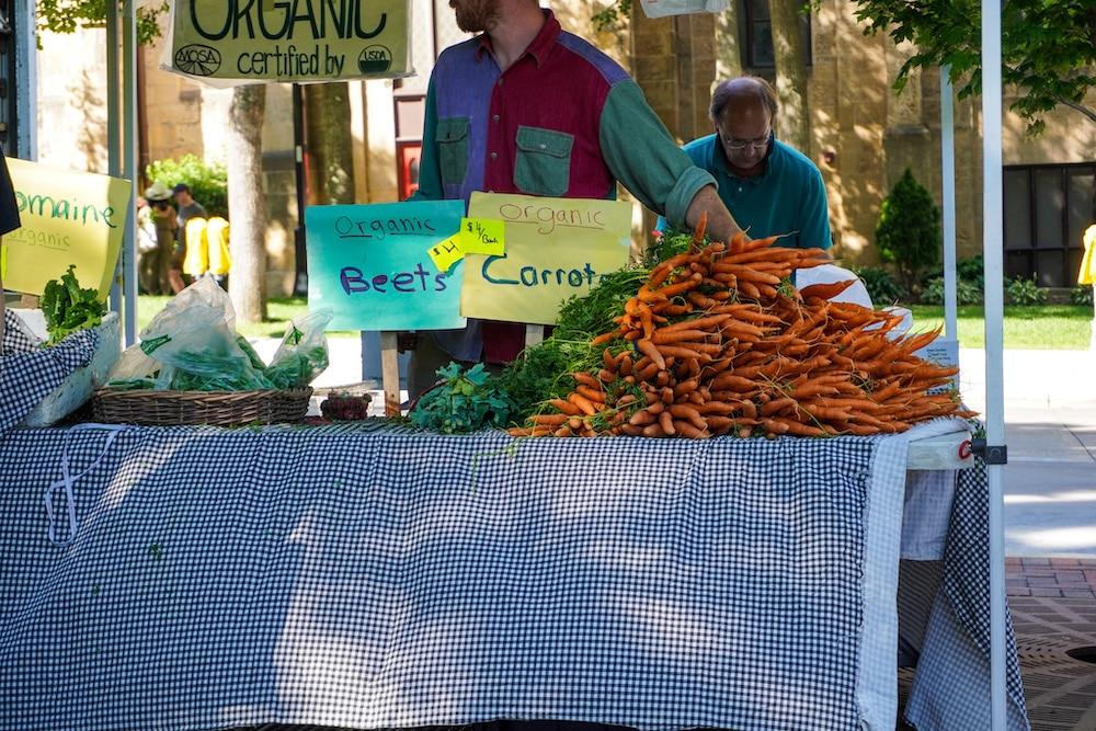 farmer's market madison wi carrots
