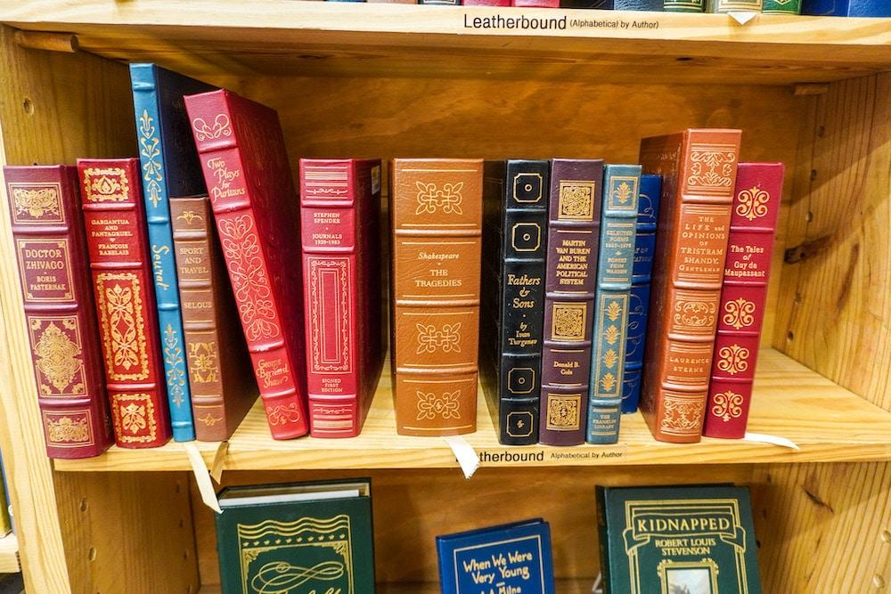 exploring half price books in concord ca