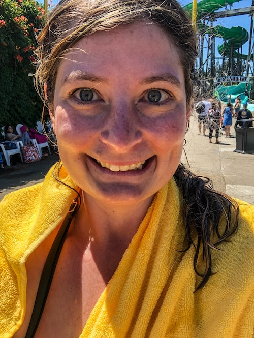 solo trip to concord ca at the water park