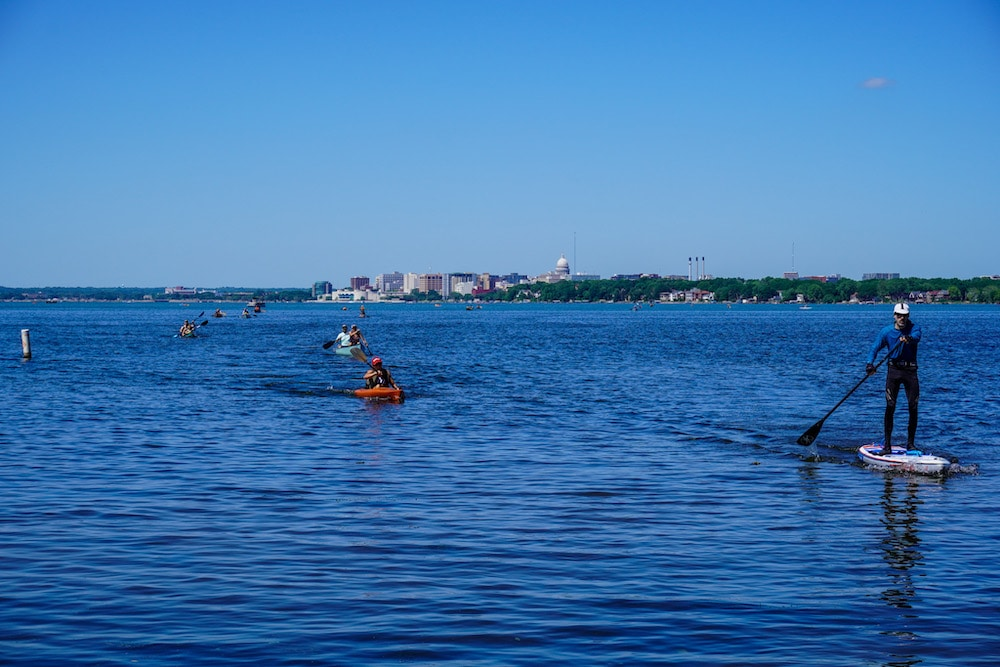 paddling is a great way to have a madison wi weekend getaway