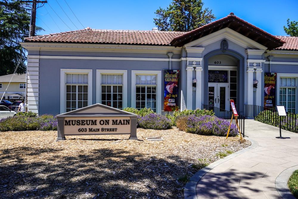 museum on main in pleasanton is interesting