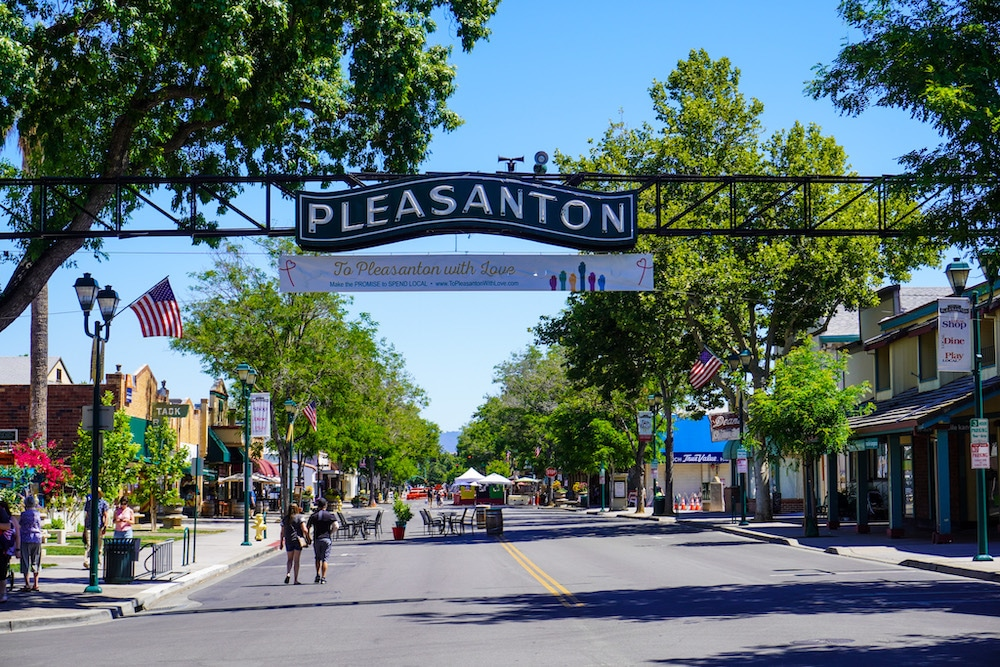 pleasanton ca is a great place to travel alone