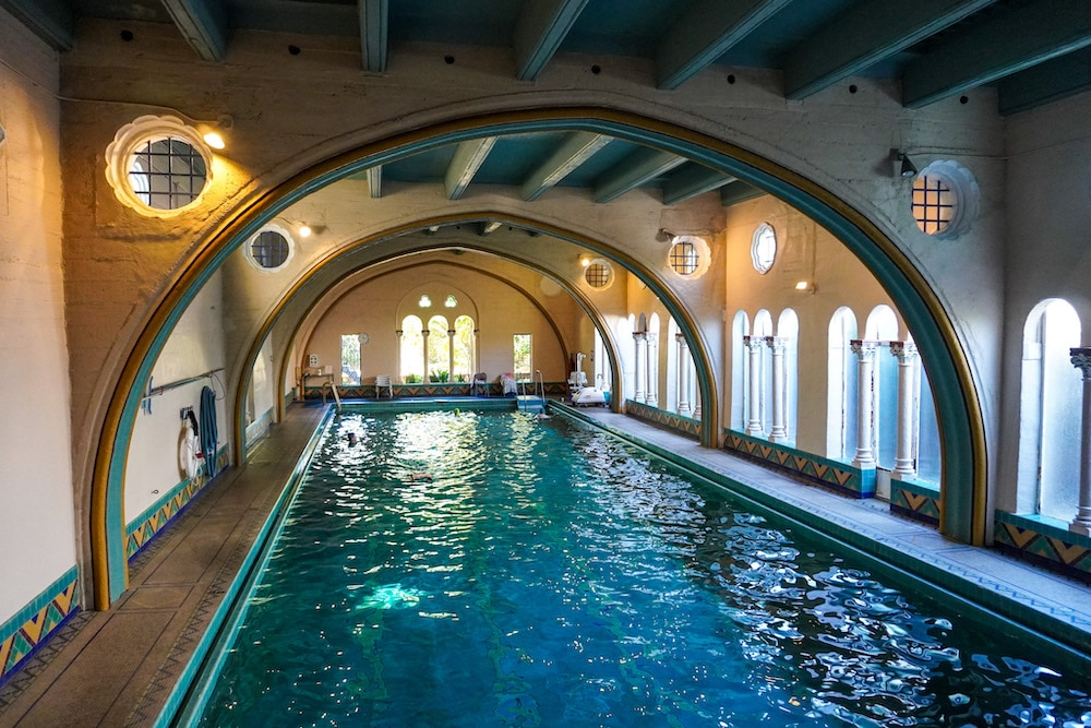 check out this stunning pool with a weekend in berkeley