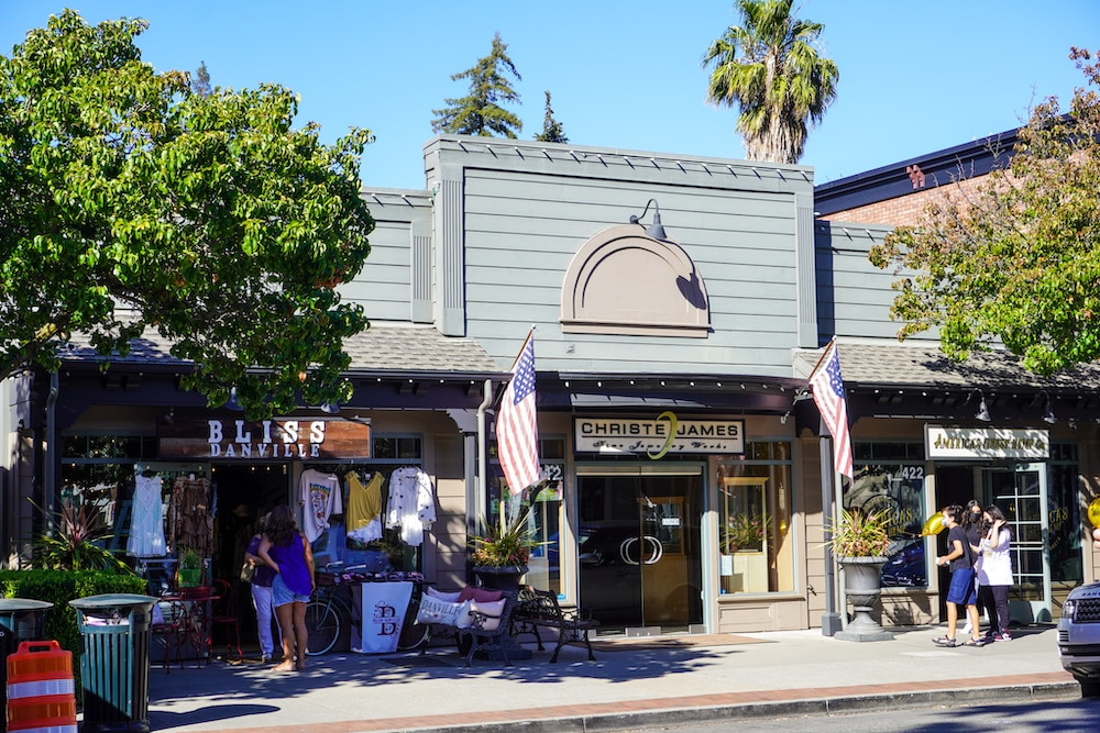 spending money at the shops is one of the best things to do in danville ca