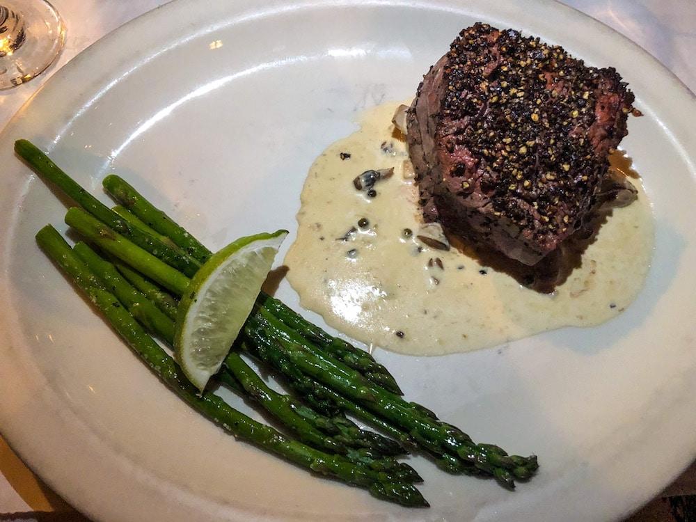 madison has excellent steak