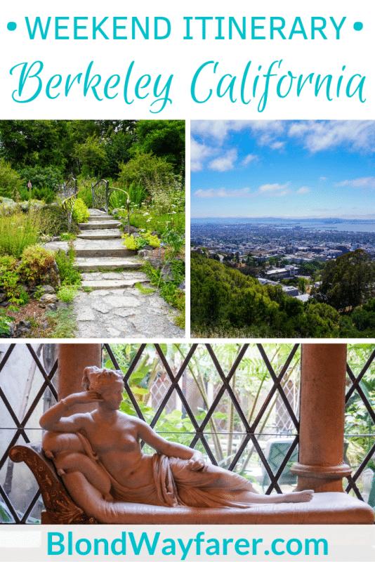 weekend in berkeley california | 2 days in berkeley ca | two days in berkeley | weekend getaway berkeley california | two day berkeley itinerary