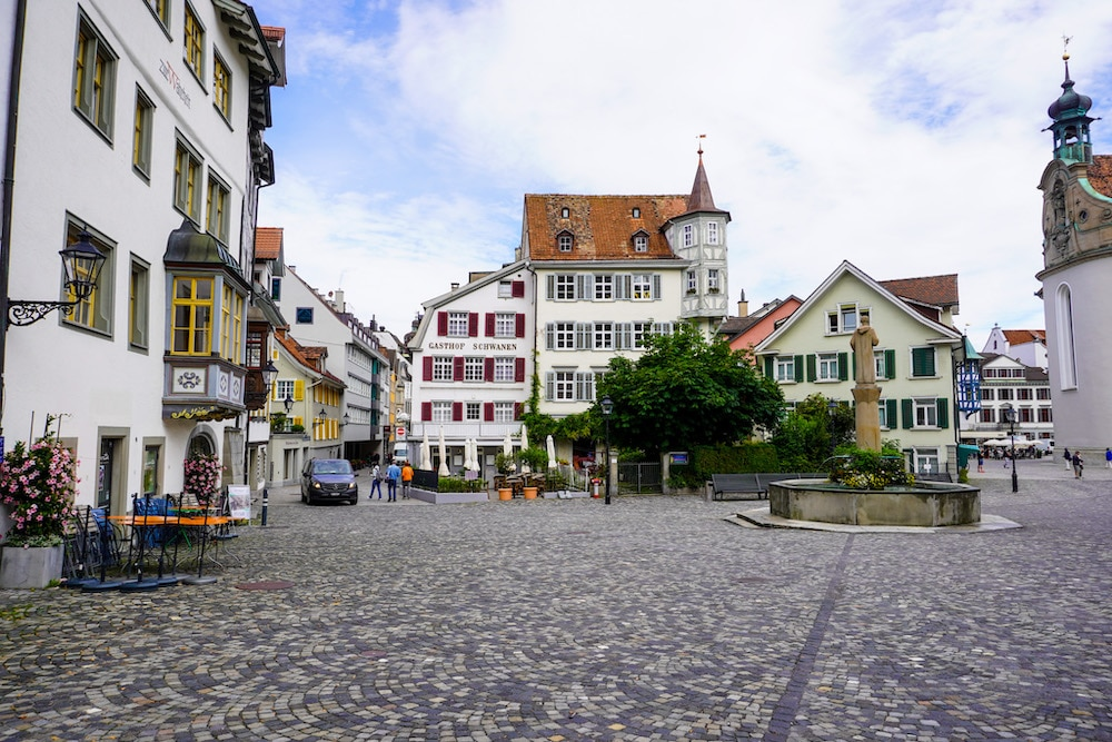 is st gallen worth visiting? yes the old town is perfect