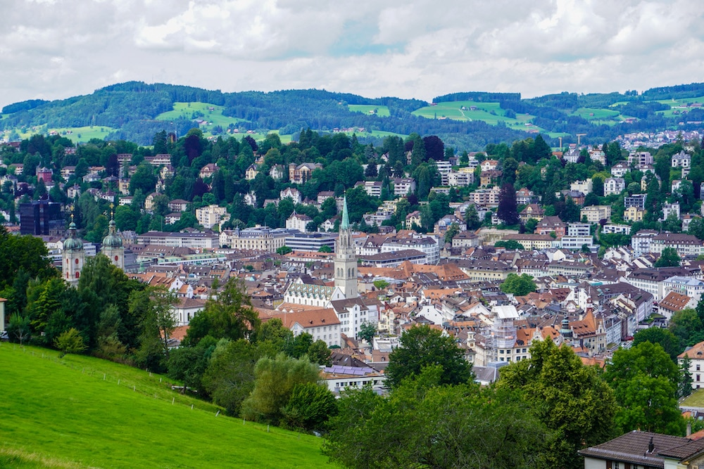 is st. gallen worth visiting? definitely for this view