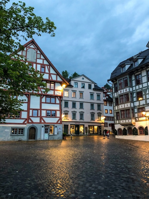 is st gallen worth visiting? yes even in the rain