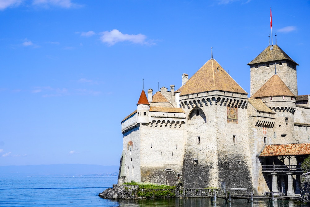 lovely chillon castle is fun to explore