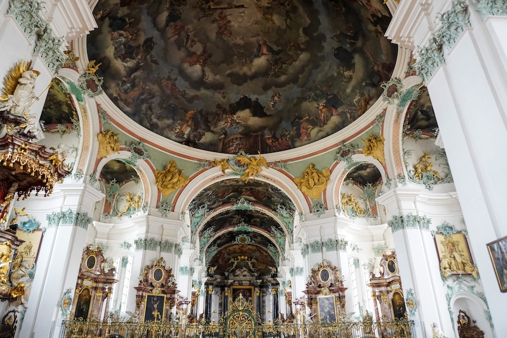 gorgeous cathedral in st gallen