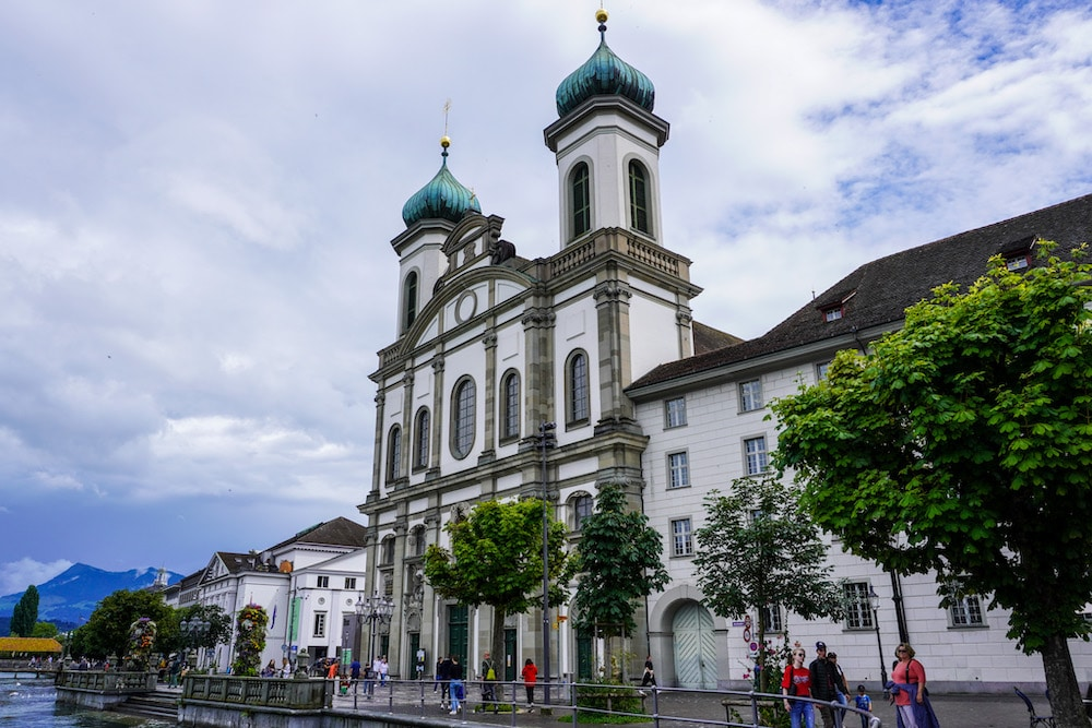 wandering the streets of lucerne