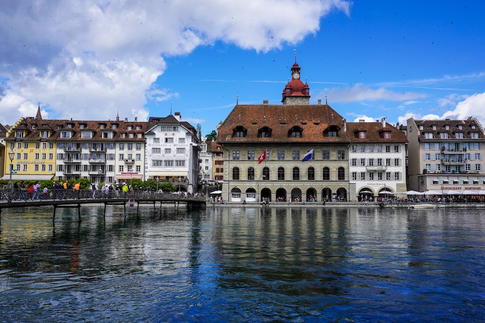 just one day in lucerne means seeing the old town