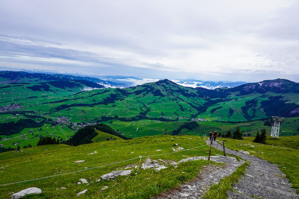 exploring appenzell's countryside is easy with public transit
